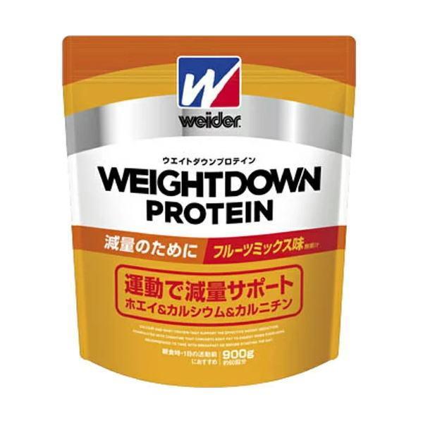 ウィダー(weider) お取り寄せ品 森永製菓プロテイン ウエイトダウンプロテイン フルーツミックス味 900g C6JMM43300(c6jmm43300) ウイダー