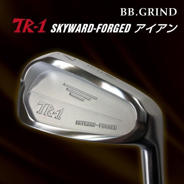 [工房直送!]TR-1 SKYWARD FORGEDアイアン (1本) DG/NS スチールシャフト仕様|fukuyamagolf