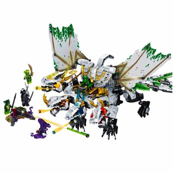 レゴ 互換品 ニンジャゴー 究極のウルトラ・ドラゴン アルティメルス|fulfilldream