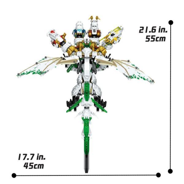 レゴ 互換品 ニンジャゴー 究極のウルトラ・ドラゴン アルティメルス|fulfilldream|03