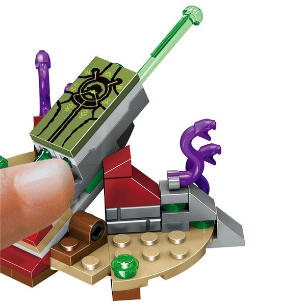 レゴ 互換品 ニンジャゴー 究極のウルトラ・ドラゴン アルティメルス|fulfilldream|06