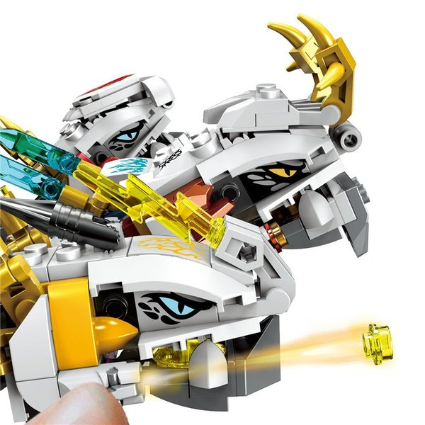 レゴ 互換品 ニンジャゴー 究極のウルトラ・ドラゴン アルティメルス|fulfilldream|07