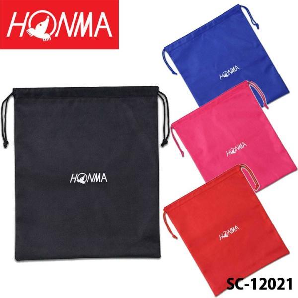 本間ゴルフ SC-12021 ラフルシューズ袋 ブラック HONMA 数量限定/特別価格 即納