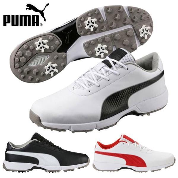 プーマ ゴルフ 190607 ドライブクリーテッドクラシック メンズゴルフシューズ 日本正規品  数量限定/特別価格 即納|full-shot
