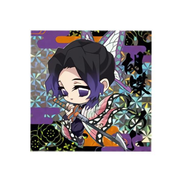 鬼滅の刃ディフォルメシールウエハース 018 胡蝶しのぶ ★3