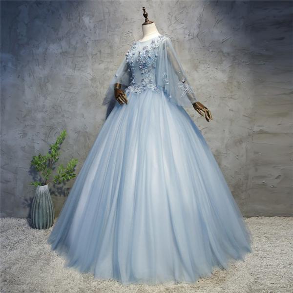 0c152f51be2a4 ... ロングドレス 演奏会 刺繍 ドレス ロング ステージ 花の妖精 カラードレス ウエディングドレス ロング ...
