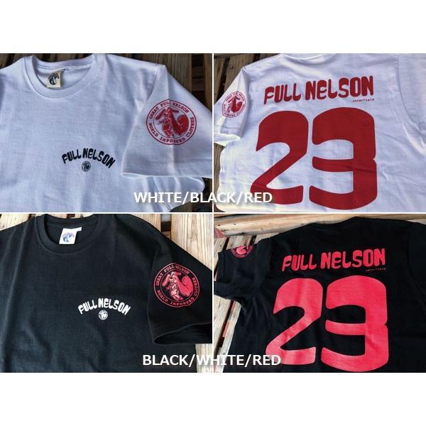 新色追加!!FULLNELSONフルネルソン ショップオリジナル 23周年記念 Tシャツ|fullnelsonhalf|05