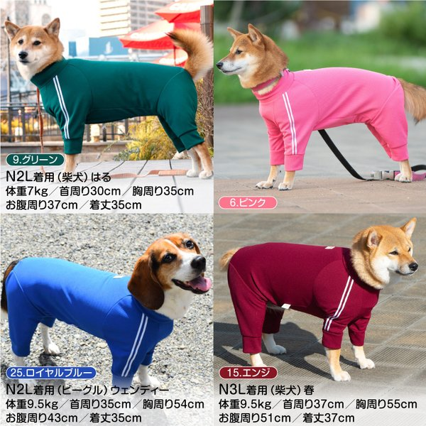 ドッグプレイ(R)体操服ジャージつなぎ(大型犬用)【ネコポス値6】|fullofvigor-yshop|08