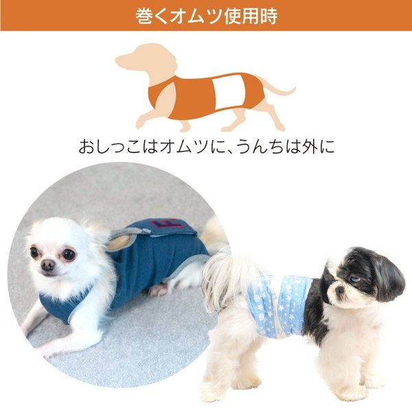 抗菌・消臭機能付男の子用マナーガード(R)(ダックス・小型犬用)【ネコポス値2】日本製 マナーパンツ マーキング 介護 おむつ シニア 老犬 お漏らし お出かけ|fullofvigor-yshop|10