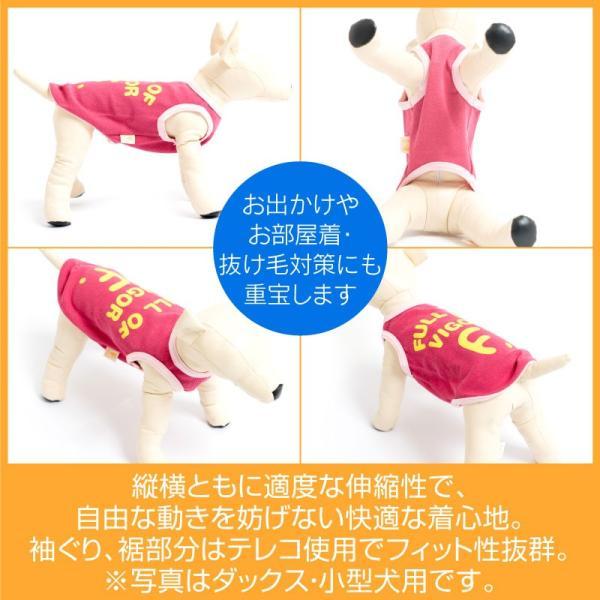 【2019年春夏新作】Fロゴプリントリバーシブルメッシュタンク(大型犬用)【ネコポス値3】 fullofvigor-yshop 05