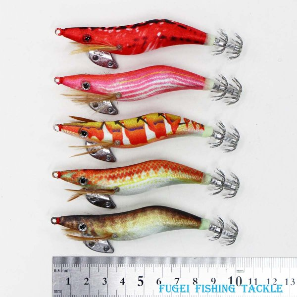 釣具 仕掛け 夜光 エギ 2.5号 10本 セット Y20egi25h10pD イカ釣り エギング 餌木