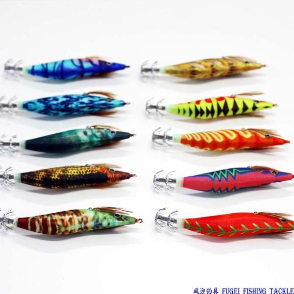釣具 エギング 夜光 エギ 2.5号 10個 セット イカ釣り 仕掛け セット Y20egi25hpyN10B