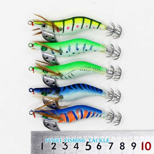 釣具 釣り道具 イカ釣り 仕掛け エギング 夜光 イカ釣り用 エギ 2.0号 10個 セット エギング エギ 餌木 Y20egipy20h10Q