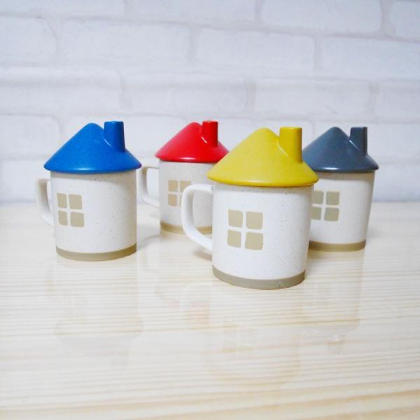 お家 マグ マグカップ 蓋つき 可愛い コーヒー 紅茶 ティータイム 電子レンジ 食洗器 食器洗機 対応!(Sunny Cider)|fundaily|05