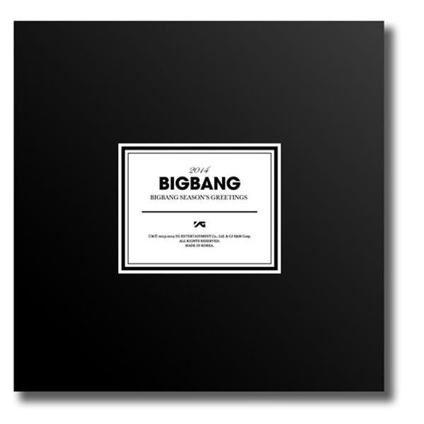 在庫品 メンバー直筆ナンバリング Big Bang : 2014 Seasons Greeting [BIGBANG公式カレンダー]ビッグバン 全国送料無料  [公式グッズ]