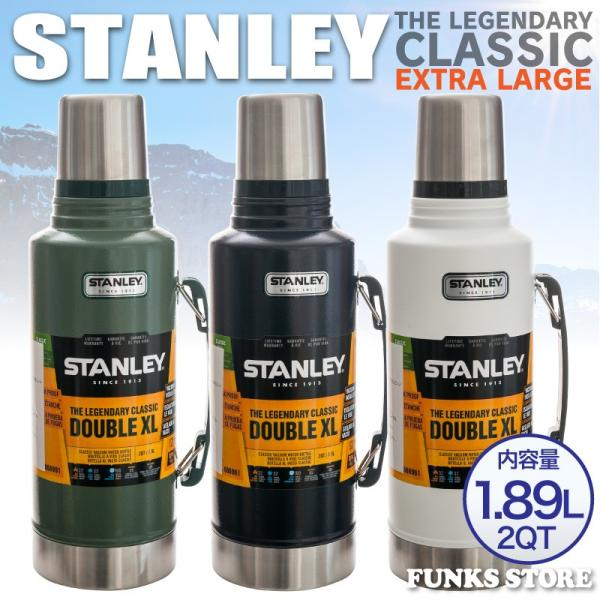 STANLEY スタンレー クラシック真空ボトル クラシックボトル 1.89L 1.9L 2QT 魔法瓶 水筒 バキュームボトル 大型|funks-store