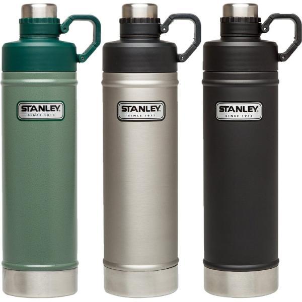 スタンレー 水筒 0.75リットル 750ml STANLEY 直飲み 真空ボトル マグボトル クラシック バキューム ウォーター ボトル 25oz ステンレスボトル|funks-store