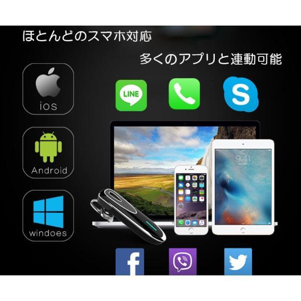 ワイヤレスイヤホン 着信電話番号音声案内 スマホ/タブレット対応 ステレオ 高音質 マイク搭載 ハンズフリー通話対応 Bluetooth4.1 BTRK1