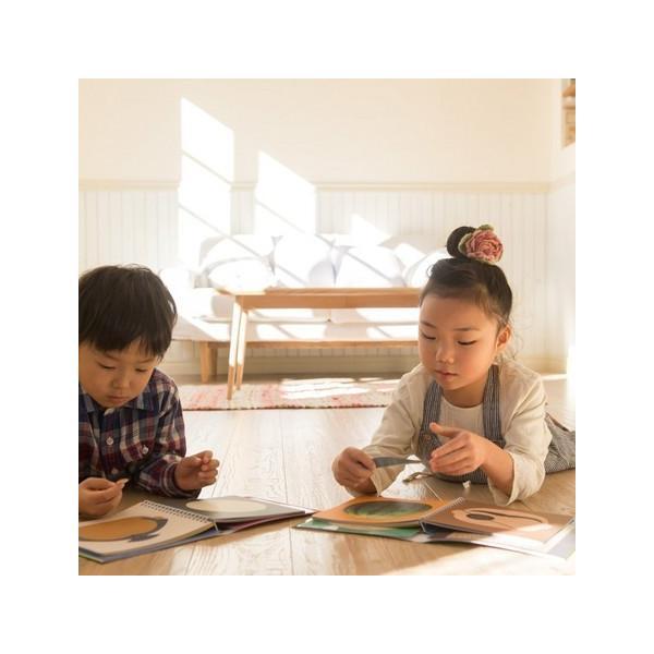 7【送料無料】かおノート 1+2 (2冊セット) 絵本 子ども 知育 メール便|funny-gift|02