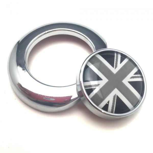 エンジン スタート ボタン カバー BMW MINI メッキリング アクセサリー カスタムパーツ SKYBELL funny-store 05