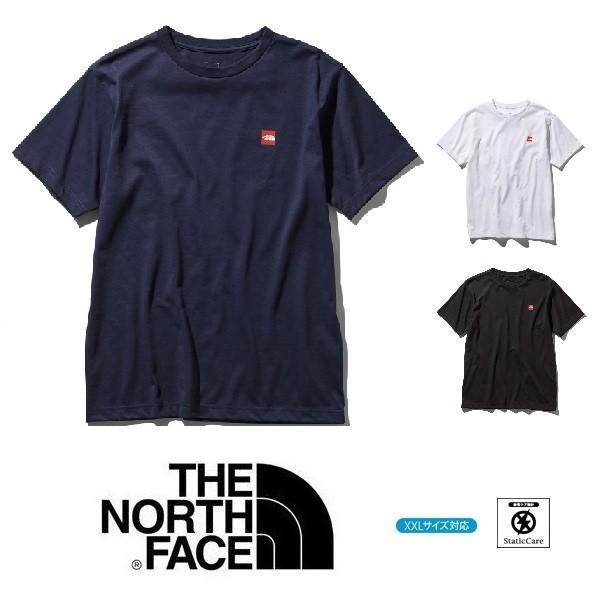 セール メール便可 THE NORTH FACE ノースフェイス スモールボックスロゴTシャツ NT31955 メンズ 半袖 Tシャツ アウトドア|funnybunny