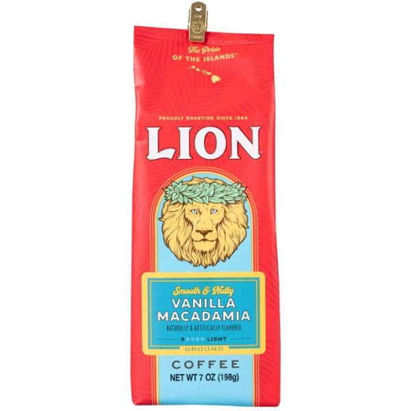 コーヒー フレーバー ライオンコーヒー バニラマカダミア 198g 粉
