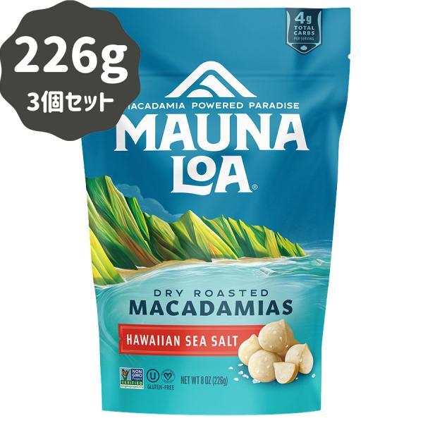 マカダミアナッツ マウナロア ドライロースト 塩味 283g×3パック