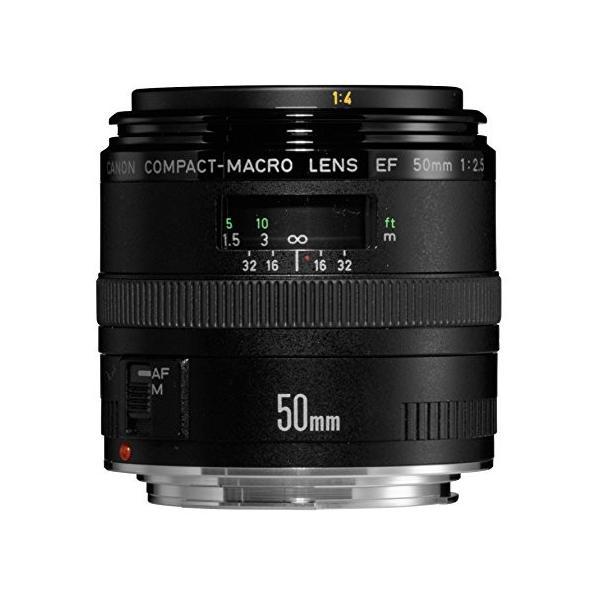 (中古品)Canon 単焦点マクロレンズ EF50mm F2.5 コンパクトマクロ フルサイズ対応|furatto