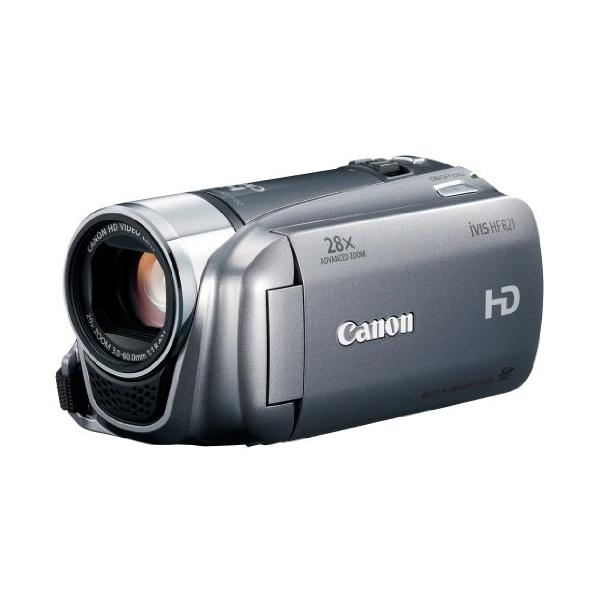 Canon デジタルビデオカメラ iVIS HF R21 シルバー IVISHFR21SL 光学20倍|furatto