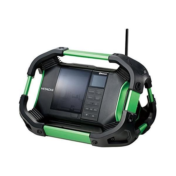 日立工機 14.4V 18V コードレスラジオ 充電式 Bluetooth機能搭載 AC100V使