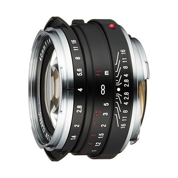 (未使用品)VoightLander 単焦点レンズ NOKTON classic 40mm F1.4 S.C.単層コート 1315|furatto