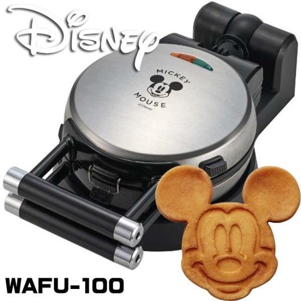 ワッフルメーカー Disney ディズニー ミッキーマウス  ホットケーキ WAFU-100
