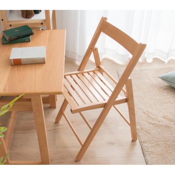 折りたたみ チェア 椅子 イタリア製 木製 折り畳み おしゃれ 木製チェア 折りたたみ椅子(A)イス 北欧 コンパクトチェア ナチュラル ウォールナット ホワイト furnbonheur 14