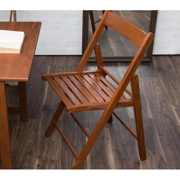 折りたたみ チェア 椅子 イタリア製 木製 折り畳み おしゃれ 木製チェア 折りたたみ椅子(A)イス 北欧 コンパクトチェア ナチュラル ウォールナット ホワイト furnbonheur 15