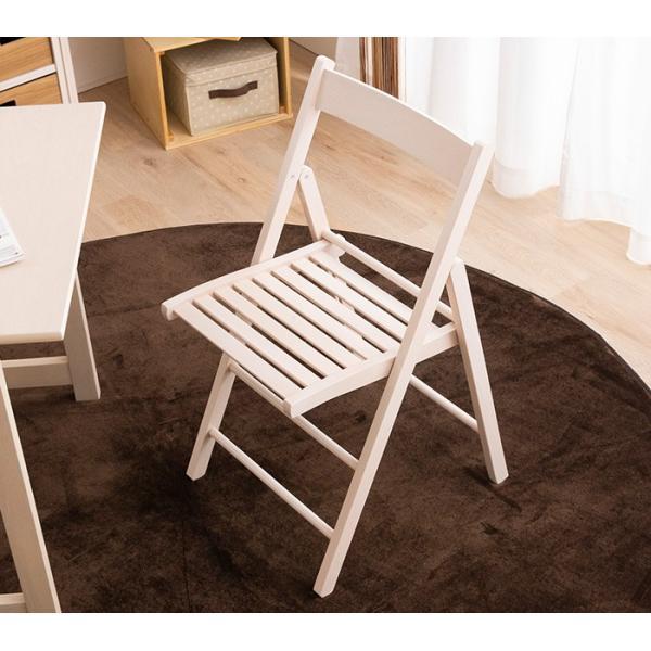 折りたたみ チェア 椅子 イタリア製 木製 折り畳み おしゃれ 木製チェア 折りたたみ椅子(A)イス 北欧 コンパクトチェア ナチュラル ウォールナット ホワイト furnbonheur 16