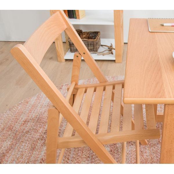 折りたたみ チェア 椅子 イタリア製 木製 折り畳み おしゃれ 木製チェア 折りたたみ椅子(A)イス 北欧 コンパクトチェア ナチュラル ウォールナット ホワイト furnbonheur 17