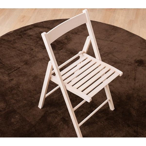 折りたたみ チェア 椅子 イタリア製 木製 折り畳み おしゃれ 木製チェア 折りたたみ椅子(A)イス 北欧 コンパクトチェア ナチュラル ウォールナット ホワイト furnbonheur 19