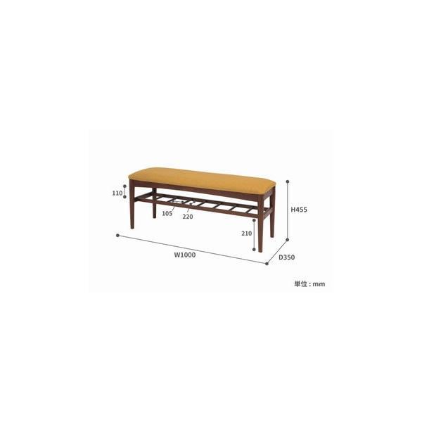 エモ ダイニングベンチ emo カントリー風 素朴な家具 新エモ|furniture-direct|02
