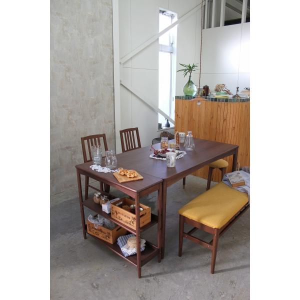 エモ ダイニングベンチ emo カントリー風 素朴な家具 新エモ|furniture-direct|07