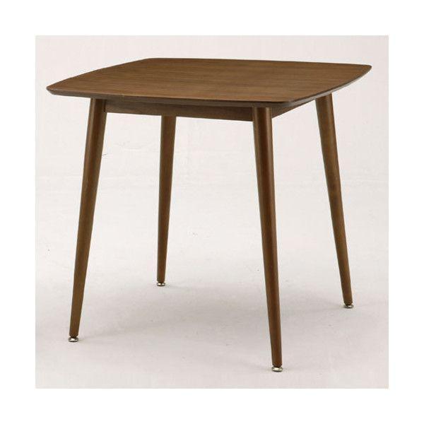 エモ ダイニングテーブル 75×75cm emo カントリー風の素朴なテーブル|furniture-direct