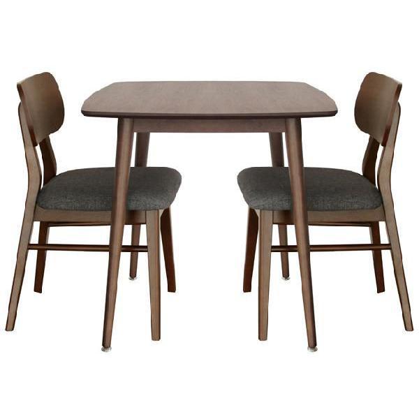 エモ ダイニングテーブル 75×75cm emo カントリー風の素朴なテーブル|furniture-direct|03