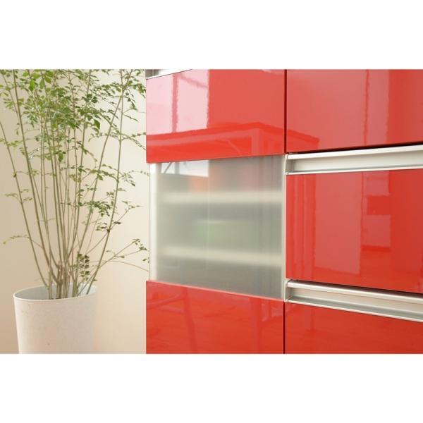 キッチン収納 鏡面カウンターワゴン 扉収納 60cm幅 Parl|furniture-direct|05