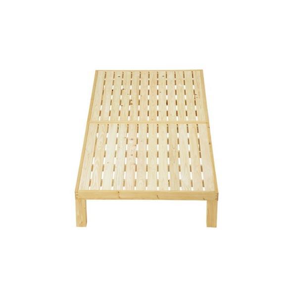 すのこベッド ひのき HINOKI-NB01 ナチュラル 国産 高級|furniture-direct|02