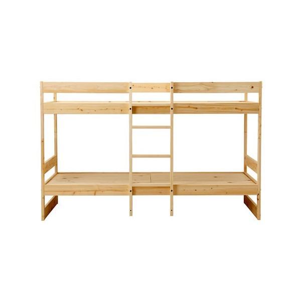 二段ベッド ひのきのすのこ HINOKI-NB01-HKN ナチュラル 国産|furniture-direct|07