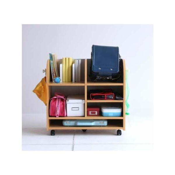 ネイキッズ ランドセルラック  KDR-2436 子供ランドセルラック 収納棚 furniture-direct 03