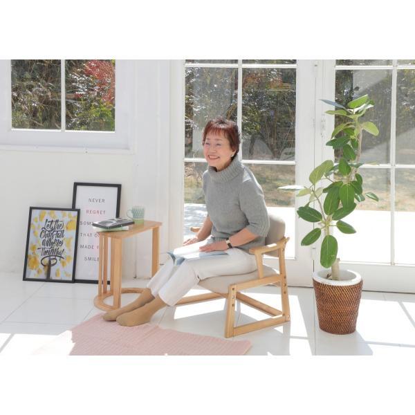ロットン チェア Loton Arm Chair 座椅子 チェア イス 椅子 肘おき 敬老 プレゼント 天然木 木 |furniture-direct|05