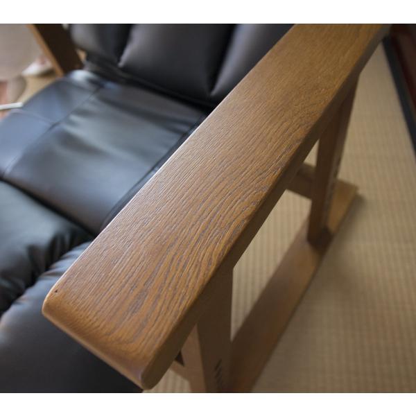 高座椅子 凛 レザータイプ YS-1900HR 日本製 人気の椅子|furniture-direct|11