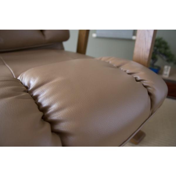 高座椅子 凛 レザータイプ YS-1900HR 日本製 人気の椅子|furniture-direct|10