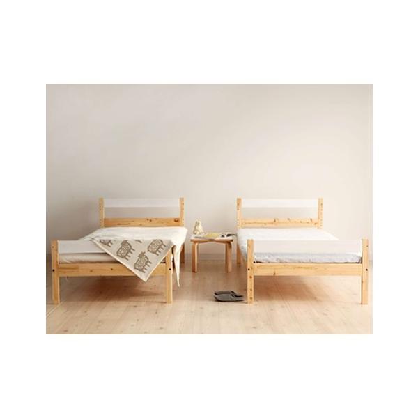 二段ベッド ひのきのすのこ ナチュラル+白 ひのき無垢材 国産 furniture-direct 07