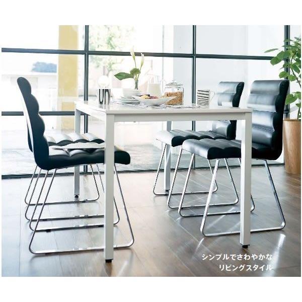 ダイニングテーブル ダイニング テーブル リビング 食卓 おしゃれ ホワイト 75×75×70cm RD-T1590|furniture-direct|02